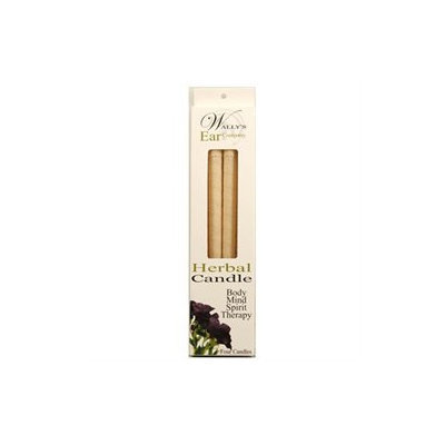 Wallys Natural Products 1029966 Candle - Herbal - 4 Candles