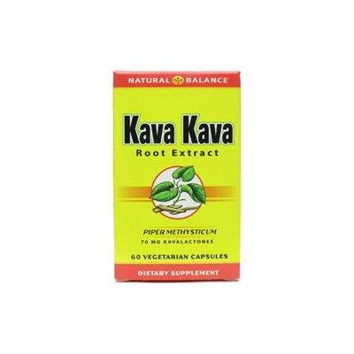 Natural Balance Kava Kava Root Extract - 60 Vegetarian Capsules