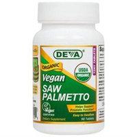 Deva Nutrition - Vegan Organic Saw Palmetto 490 mg. - 90 Vegetarian Capsules