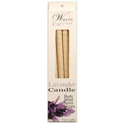 Wallys Natural Products 1029917 Candle - Lavender - 4 Candles
