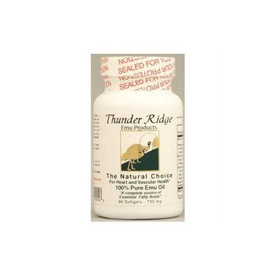 Thunder Ridge Emu Products 100% Pure Emu Oil - 750 mg - 90 Softgels