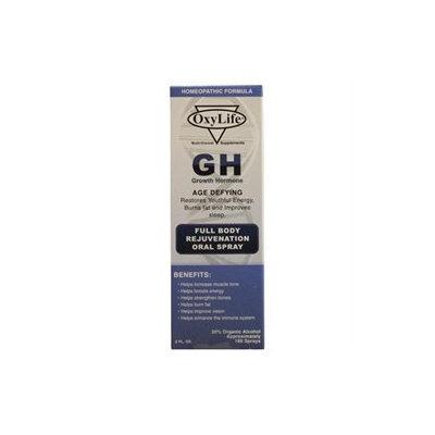 Oxylife Products - GH Growth Hormone Oral Spray - 2 oz.