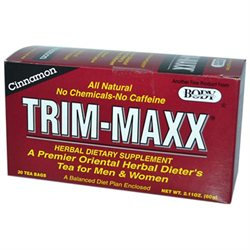 Body Breakthrough Diet Trim-Maxx Cinnamon - 30 Tea Bags