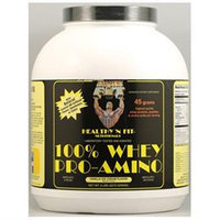 Healthy N Fit Healthy N' Fit - 100 Whey Pro-Amino Vanilla Ice Cream - 5 lbs.