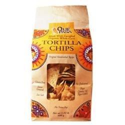 Que Pasa White Corn Tortilla Chips (10x10/21 Oz)