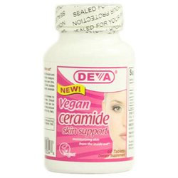 Deva Nutrition - Vegan Ceramide Skin Support - 60 Tablets