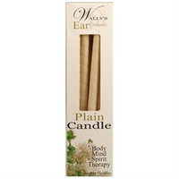 Wallys Natural Products 1029727 Candle - Plain - 12 Candles