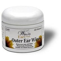 Wallys Natural Products Wally's Natural Products Ear Wipes Adult 50 Pack