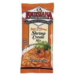 Louisiana Fish Fry B75895 Louisiana Shrimp Creole Dinner Mix -24x2.61oz