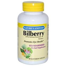 tures Answer Bilberry Extract by Nature's Answer - 90 Vegetarian Capsules
