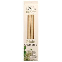 Wallys Natural Products 1029719 Candle - Plain - 4 Candles
