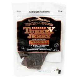 Snackmasters Range Grown Turkey Jerky Original (8x8/2 Oz)