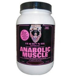 Healthy N Fit Nutritionals Anabolic Muscle Chocolate Shake - 3.5 Pound Powder - BCAA Complex