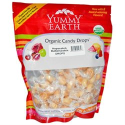 Yummy Earth Organic Hopscotch Butterscotch Drops