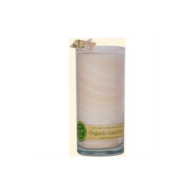 Aloha Bay GemTone Jar Unscented White - 1 Candle