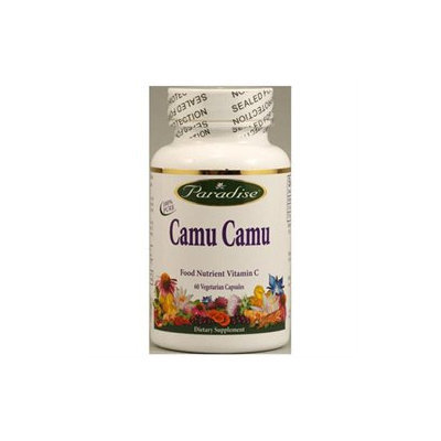 Paradise Herbs Camu Camu - 60 Vegetable Capsules