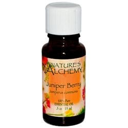 tures Alchemy Juniper Berry Pure Essential Oil by Nature's Alchemy - 0.5oz.