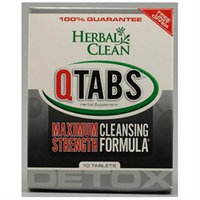 BNG Enterprises - Herbal Clean QTabs Maximum Strength Cleansing Formula - 10 Tablets
