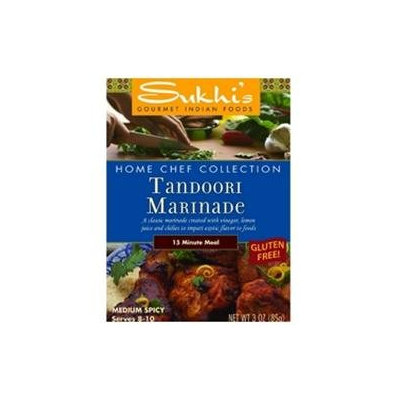 Sukhi's Gluten-Free Tandoori Marinade (6x6/3 Oz)