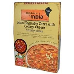 Kitchens Of India, Navratan Korma, Mixed Vegetable Curry With Cottage
