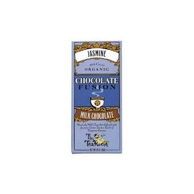 The Tea Room Organic Chocolate Fusion Milk Chocolate Jasmine 1.8 oz