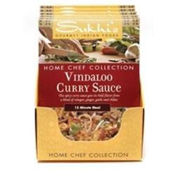 Sukhi's Gourmet Indian Foods, Gluten-Free Vindaloo Curry Sauce, 3 oz, 6 pk