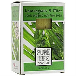 Pure Life - Bar Soap Lemongrass & Mint - 4.4 oz.