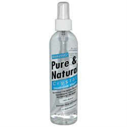 Thai Deodorant Stone Pure Natural Crystal Deodorant Mist - 8 fl oz