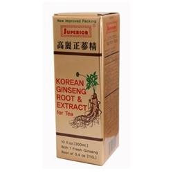 Superior Trading Co. Korean Ginseng Root and Ext 10 oz