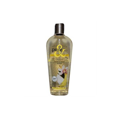 Frontier Natural Products Co-op 218529 Pure & Basic Paraben Free Bath & Body Washes - Wild Banana Vanilla 12 fl. oz.