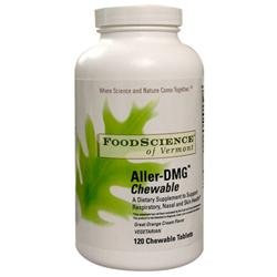 Frontier Aller-DMG Chewable, 120 Vegetarian Wafers, FoodScience Of Vermont