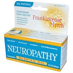 Wise Consumer Products Frankincense & Myrrh Neuropathy Rubbing Oil - 2 fl oz