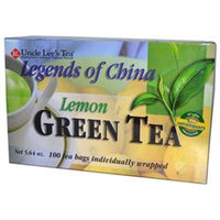 Uncle Lees Tea 0661298 Legend of China Green Tea Lemon - 100 Tea Bags