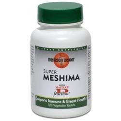 Mushroom Wisdom - Super Meshima - 120 Vegetarian Tablets