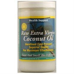 Health Support Raw Unrefined Coconut Oil - 31 fl oz