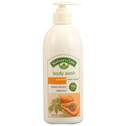 Papaya Velvet Moisture Body Wash, 18 oz, Nature's Gate