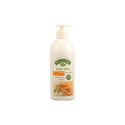 Papaya Velvet Moisture Body Wash, 18 oz, Nature's Gate