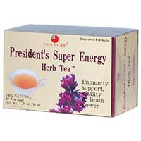 Health King President's Super Energy Herb Tea 20 Tea Bags