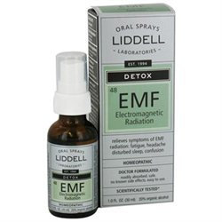 Liddell Laboratories - EMF Detox Electromagnetic Radiation Homeopathic Oral Spray - 1 oz.