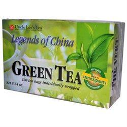 Uncle Lees Tea 0661256 Legends Of China Green Tea - 100 Tea Bags