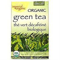 Uncle Lees Tea 0640136 Imperial Organic Decaffeinated English Breakfast Green Tea - 18 Tea Bags