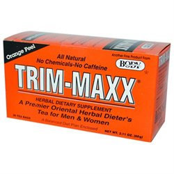 Body Breakthrough Trim-Maxx Herbal Dieters Tea Orange - 30 Tea Bags