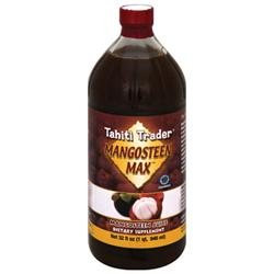 Tahiti Trader - Mangosteen Max 100 Mangosteen Juice - 32 oz.