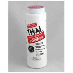 Thai Deodorant Stone Crystal And Corn Starch Deodorant Body Powder 3 oz