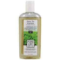 Pure Life Soap 0321570 Shampoo Green Tea - 15 fl oz