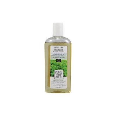 Pure Life Soap 0321570 Shampoo Green Tea - 15 fl oz