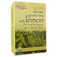 Uncle Lees Tea Uncle Lee's Tea Organic Imperial Lemon Chai 18 Bags