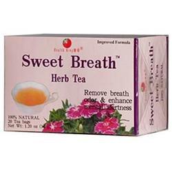 Health King Sweet Breath Herb Tea 20 Tea Bags