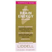 Liddell Laboratories - Vital Brain Energy with Ginkgo Homeopathic Oral Spray - 1 oz.