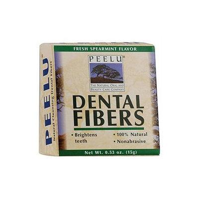 Peelu - Dental Fibers Tooth Powder Spearmint Flavor - 0.53 oz.